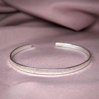 Essential | Skinny Silver Cuff