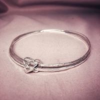 Silver Our Story Bangle