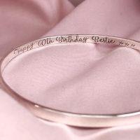 Essential | Silver Secret Message Bangle