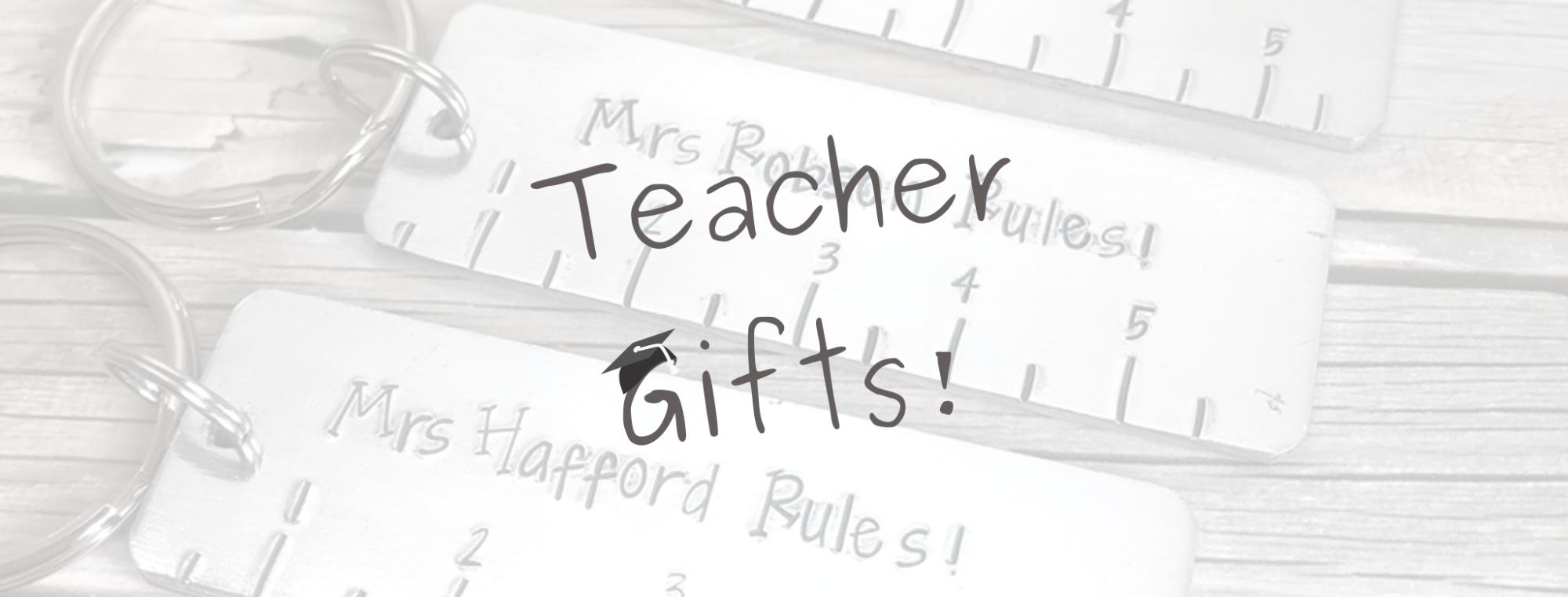 Teacher Gifts Banner