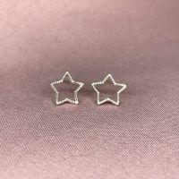 Star Outline Earrings