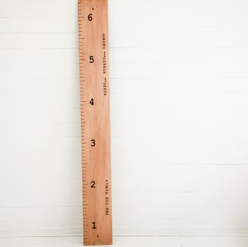 Personalised Giant Ruler Height Chart *** CURRENTLY WE CAN ONLY OFFER A LOCAL COLLECTION SERVICE****