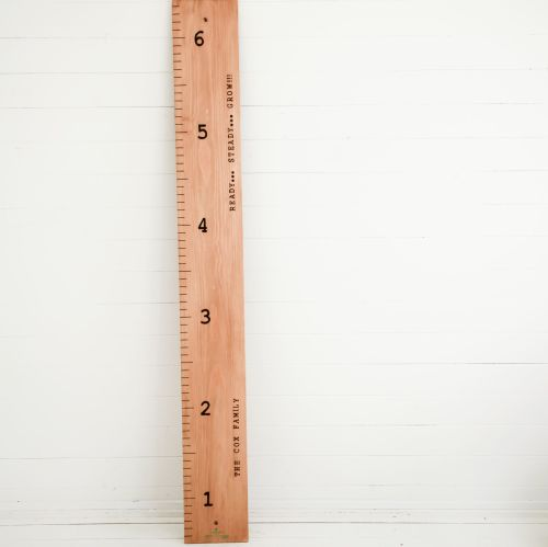 Personalised Giant Ruler Height Chart