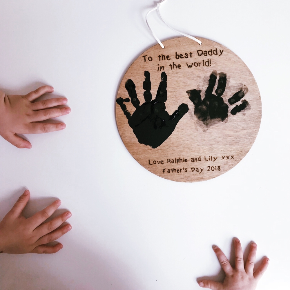 EARLYBIRD offer-Personalised Father's Day Plaque