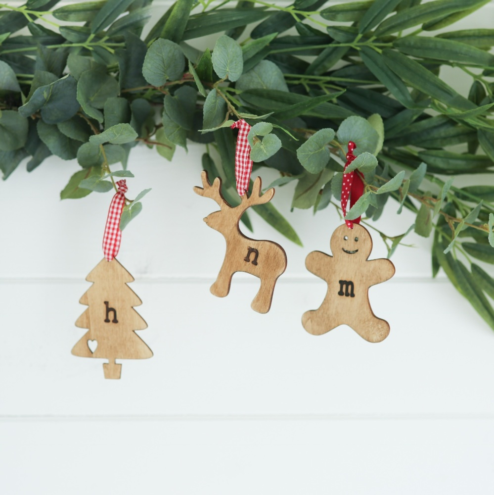 Personalised Initial Christmas Decoration