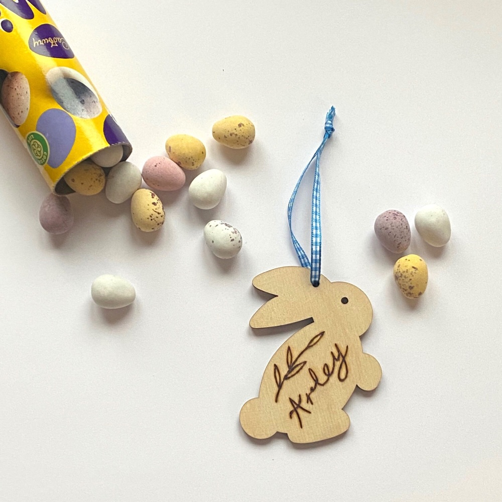 Hanging Easter Bunny Decoration