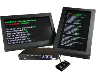 """Stageprompter Pro-Series – Multiple 32"""" Screens - Larger Stage System"""