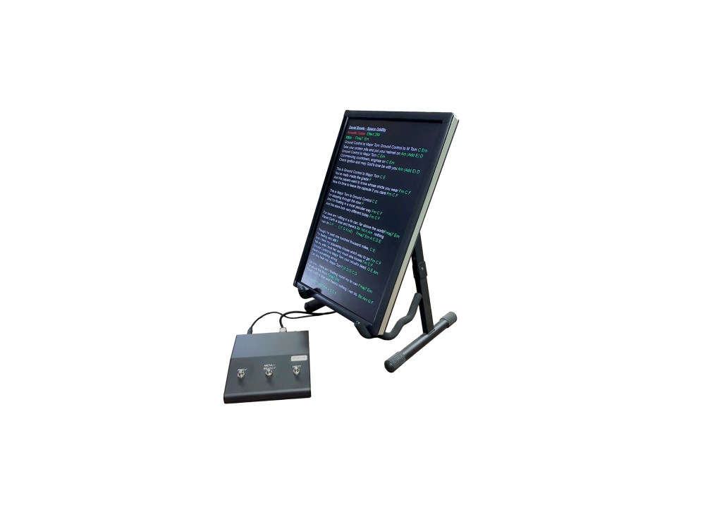 Our Controller-05 - designed for you to use your own screen on stage. (Scre
