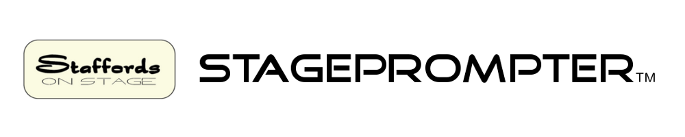 stageprompter.co.uk, site logo.