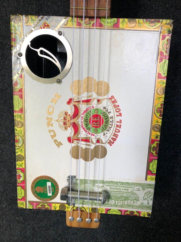 Romeo and Juliet cigar box ukulele