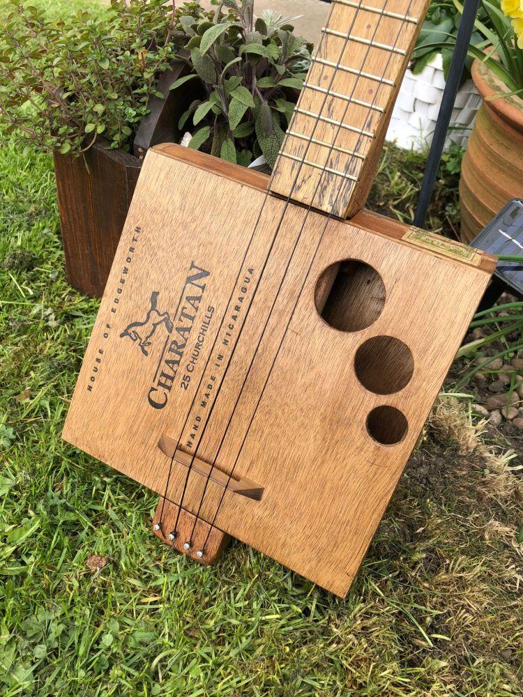 Charatan cigar box ukulele