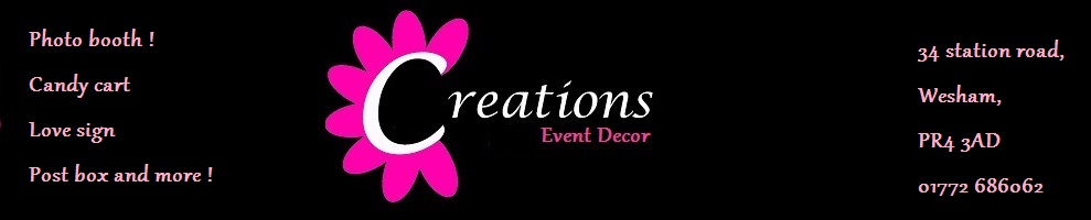 www.creationsphotobooth.co.uk, site logo.