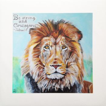 'Courageous' Giclée Fine Art Print