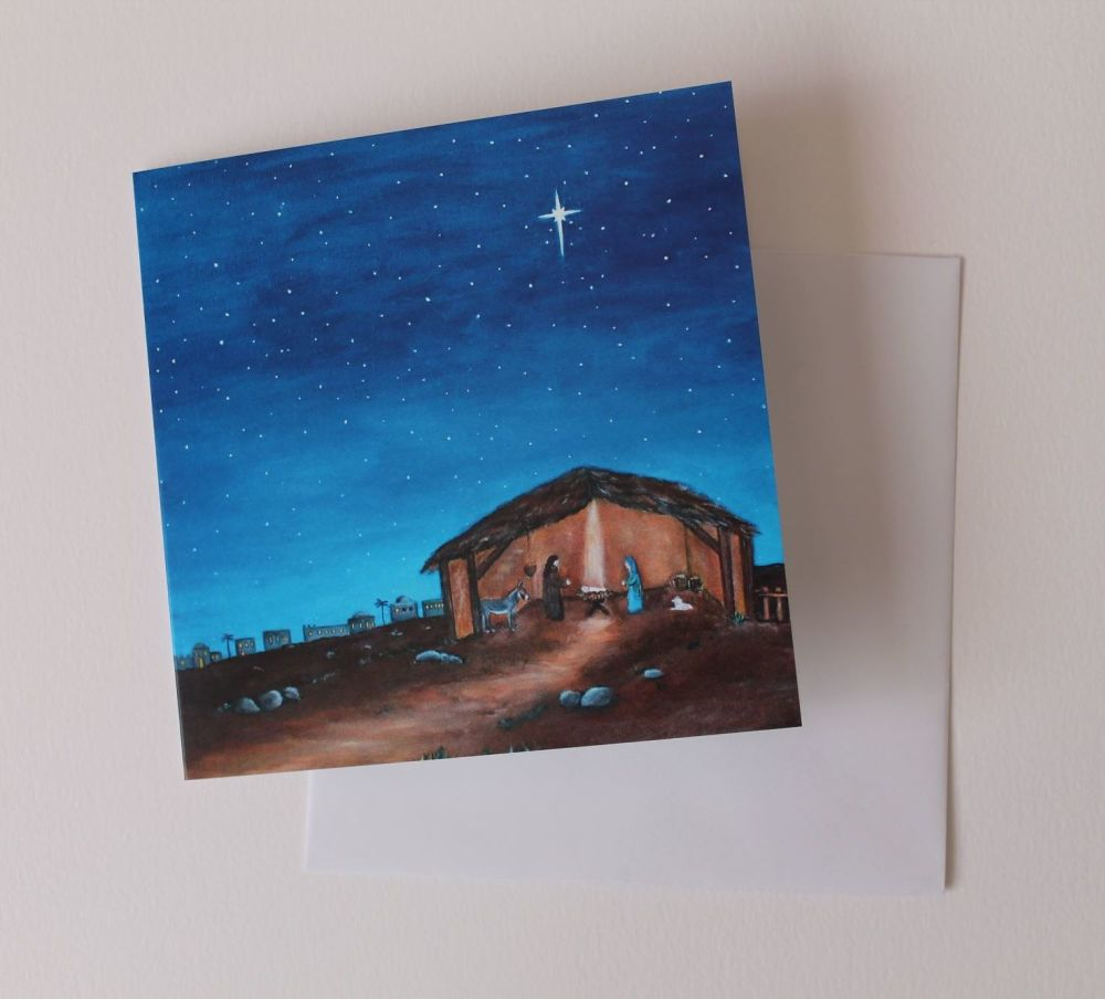 <!-- 007 -->O Holy Night Greeting Card
