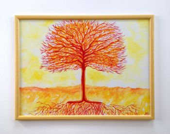 Tree of Life Framed Painting