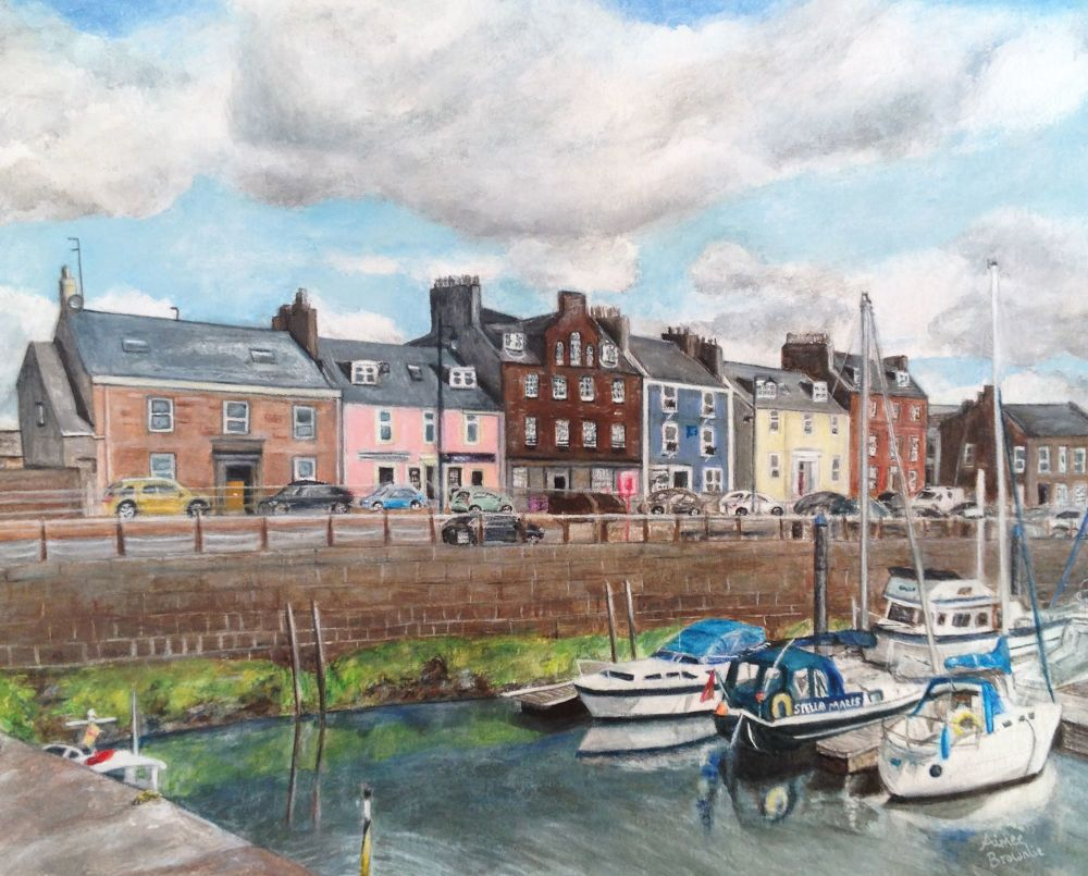 Arbroath Harbour Painting Commission