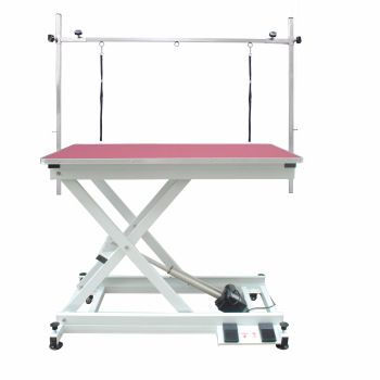 PRE-ORDER Electric Dog Grooming Table - Pink