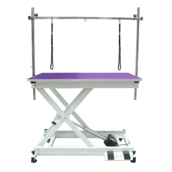PRE-ORDER Electric Dog Grooming Table - Purple