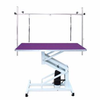 PRE-ORDER Hydraulic Dog Grooming Table - Purple