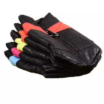 Black Waterproof Dog Coats Size 4X-Large 4 Qty