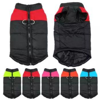 Black Waterproof Dog Coats Size Medium 4 Qty