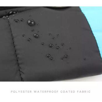 Black Waterproof Dog Coats Size XX-Large 4 Qty