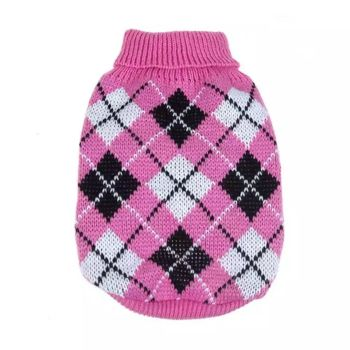 Dog Jumpers - Pink & Navy - Individual 1 qty