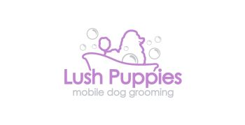 Dog Grooming Logo Design