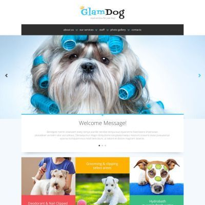 Dog Grooming Website Design with Online Booking System
