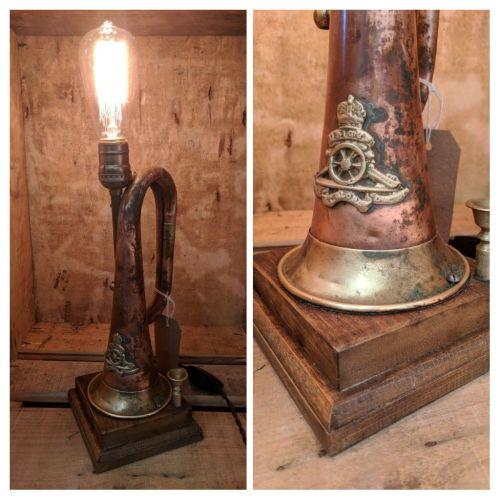 Military Bugle Lamp