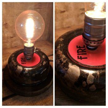 Art Deco Bell Lamp