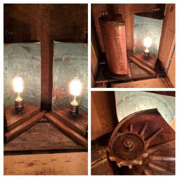 Copper Can Lamp