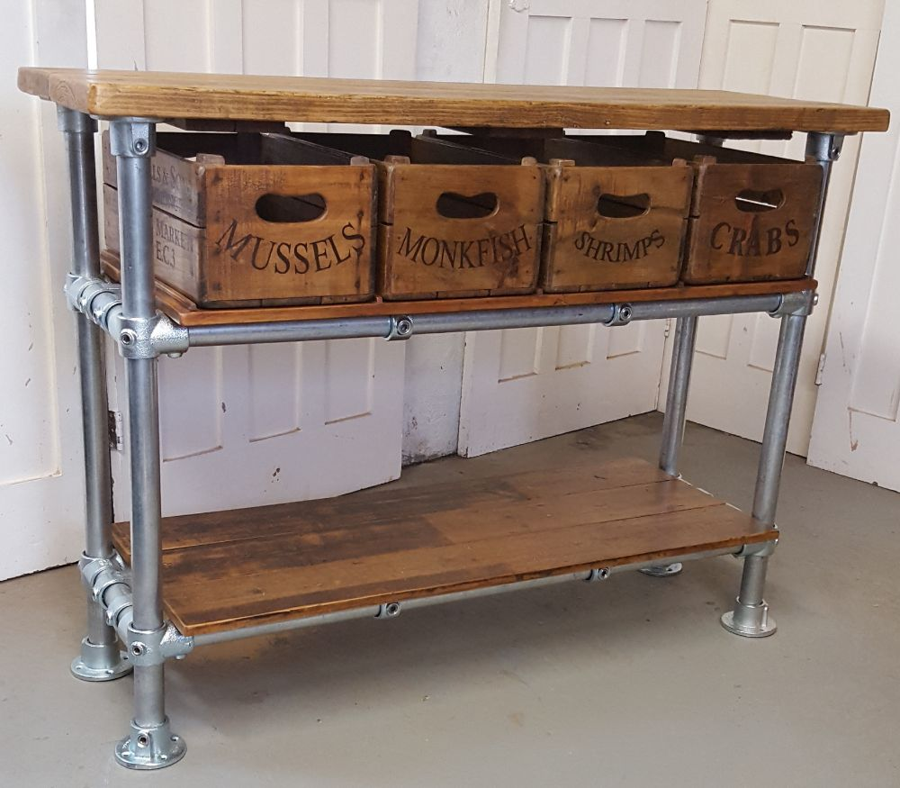 Upcycled Scaffold Board Furniture