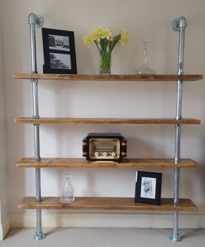 Fixed Shelving Unit
