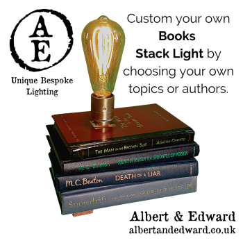 Customisable Stack of Books LIght