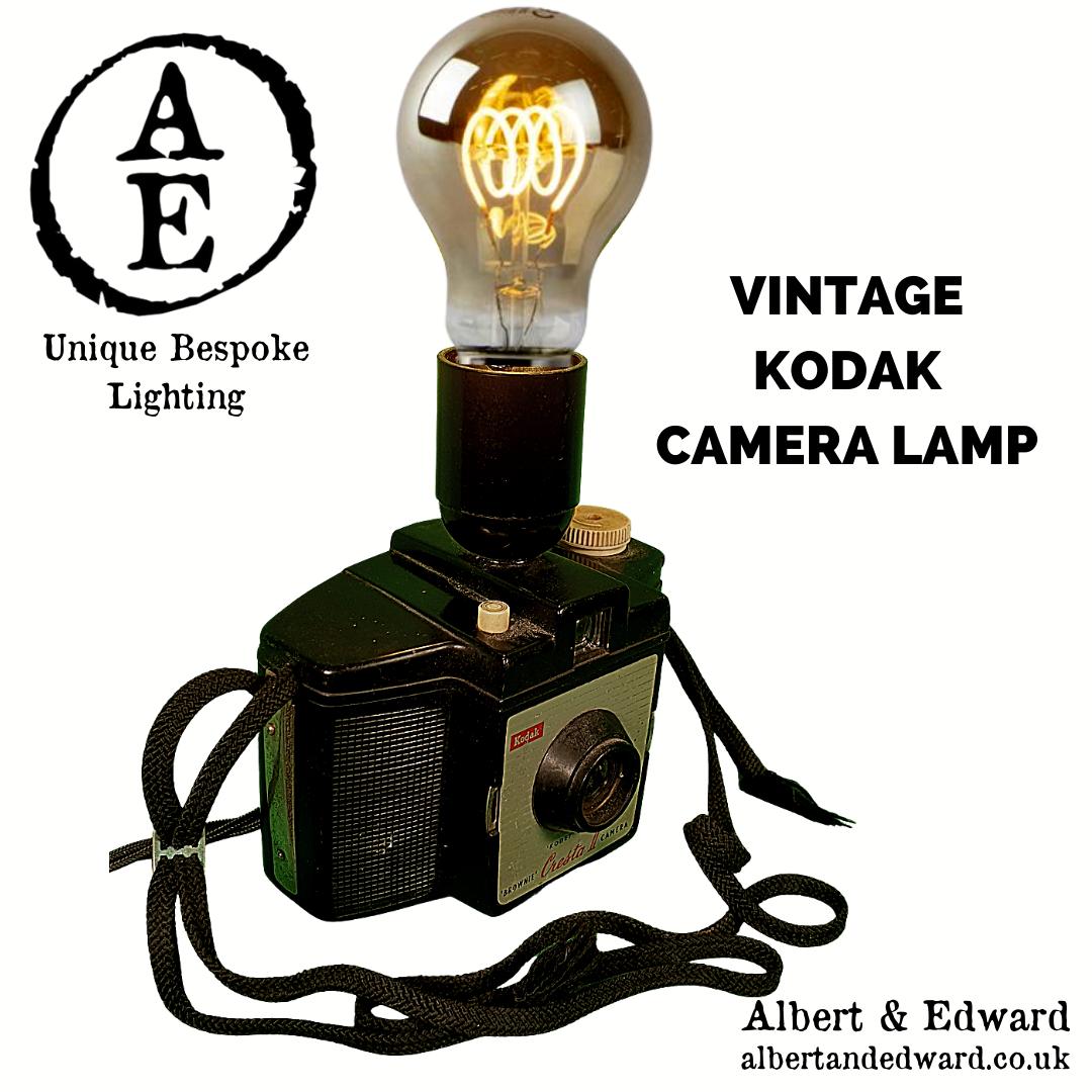 Vintage Brownie Camera Light