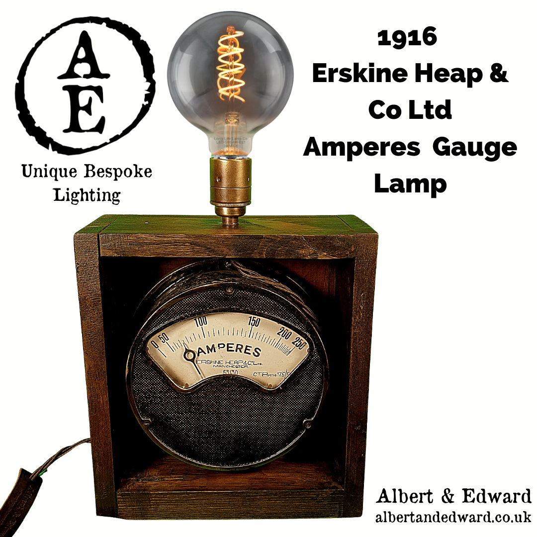 1916 Erskine Heap & Co Ltd Lamp