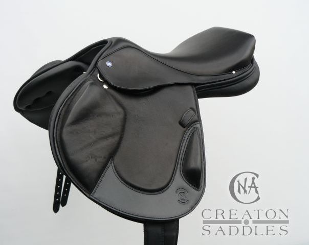 Black Basculare Saddle