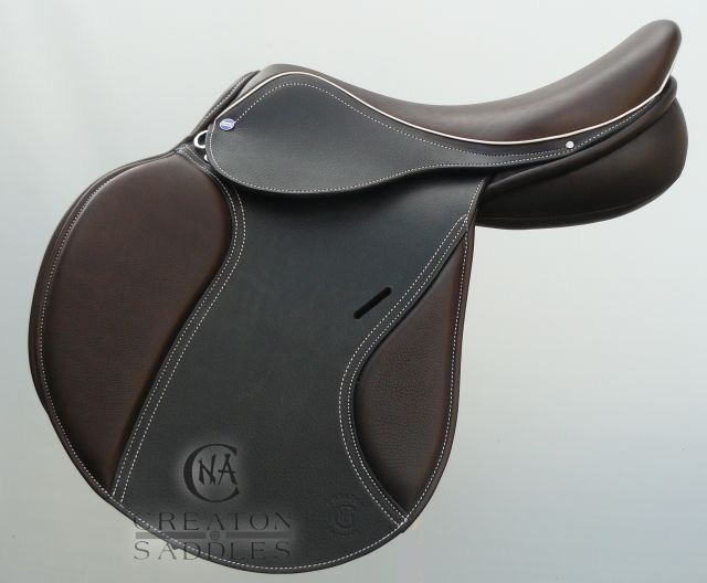 saddle-with-white-stitching