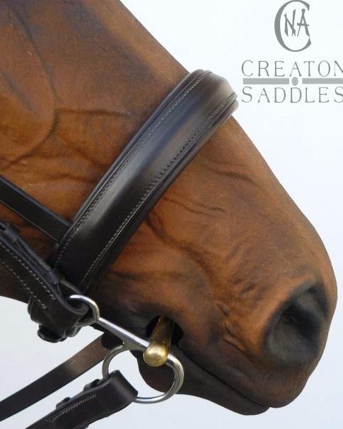 padded-noseband-bridle
