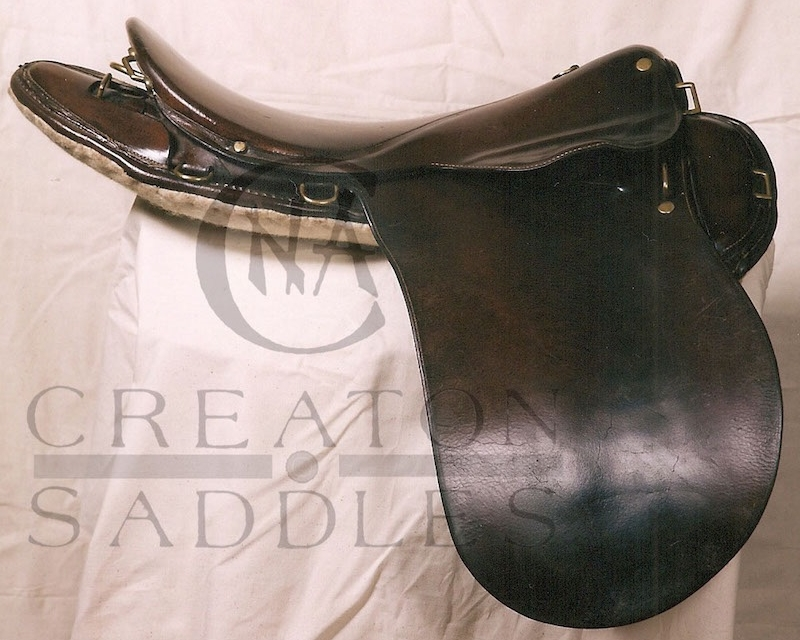 Richards-cavalry-saddle