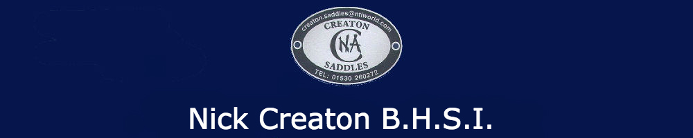 Creaton Saddles, site logo.