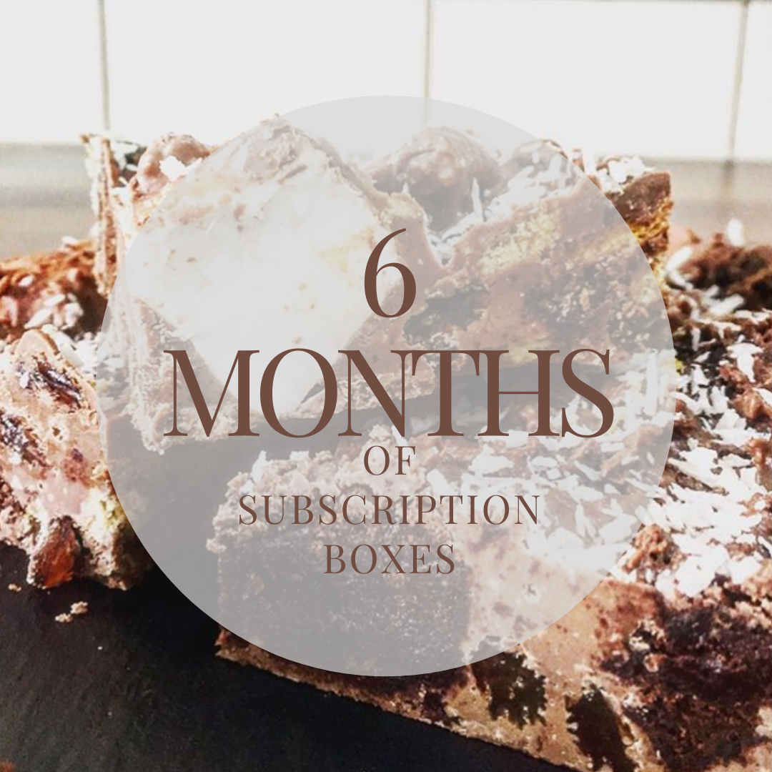 6 Months Subscription Box