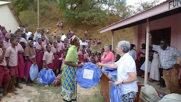 2016 Mosquito nets for all pupils and staff