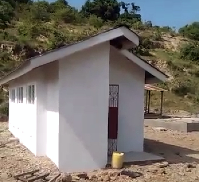 Toilet Block completed 0719