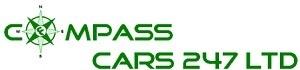 Compass Cars 24/7, site logo.