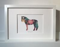 Pony (medium frame 23x32cm)