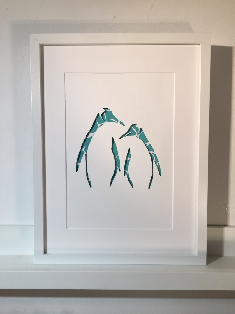 Penguins (Large frame)