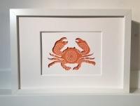 Crab (medium frame 23x32cm)