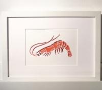Shrimp (medium frame 23x32cm)